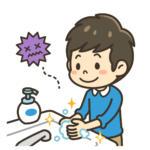 衛生学的手洗い
